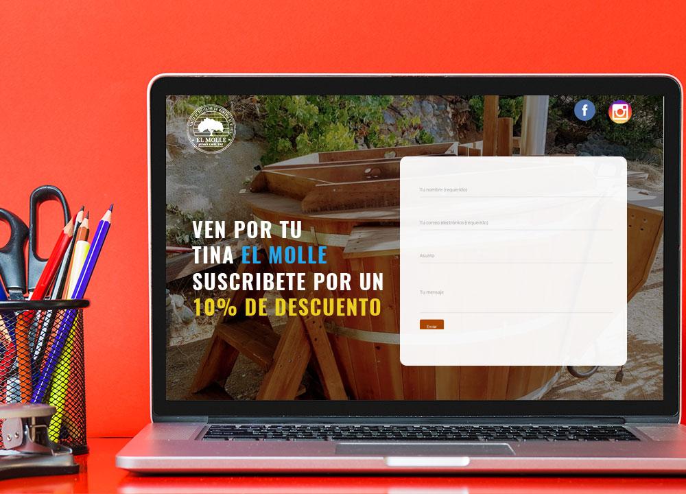 Landing page diseño web