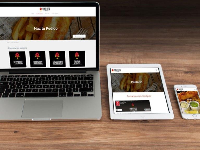 diseño web sitio básico