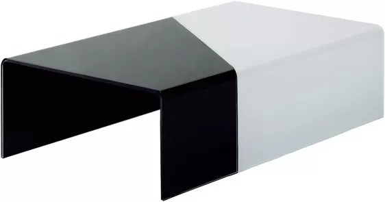 bent glass top coffee table contemporary black glass coffee tables black and white glass table