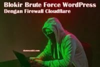 Blokir Brute Force WordPress Dengan Firewall Cloudflare