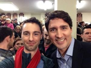 Dan meets Trudeau in Iqaluit
