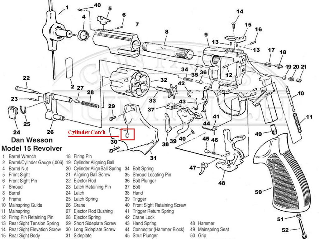 Model 15 Cylinder Lock Revolvers The Dan Wesson Forum Forum