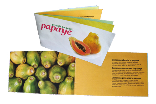 Gut bekannt School Project S2 – Fruit gift-packaging | Dany Pepin - Graphic  AY22
