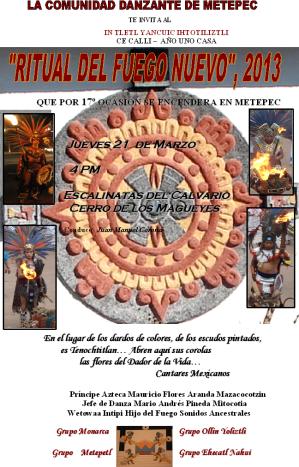 fuego nuevo 2013