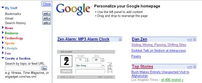 dan zen on google zen alarm