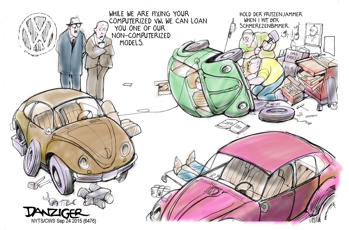 vw loaners danziger cartoons