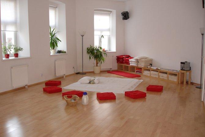 Meditationsraum im DAO-Zentrum, MBSR Schnupperworkshop