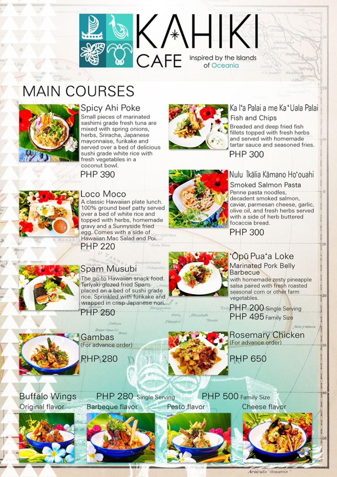 Kahiki menu4
