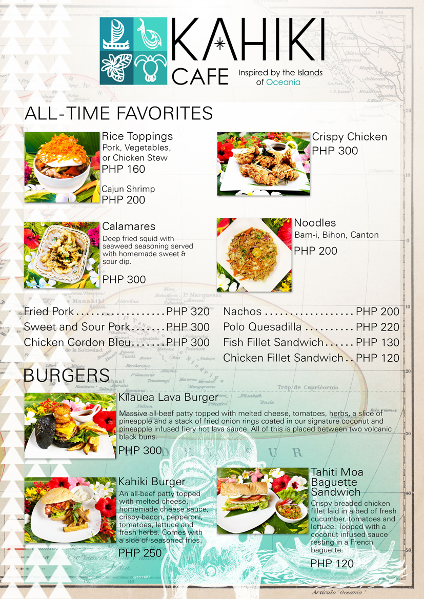 Kahiki menu5