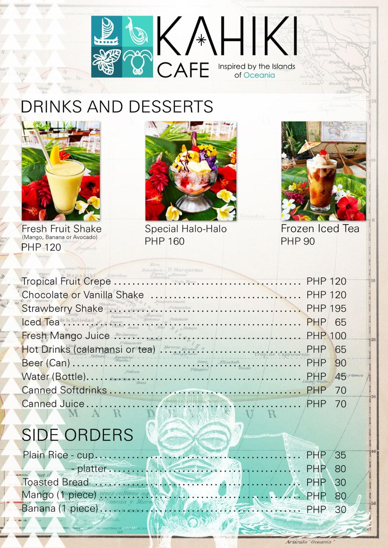 Kahiki menu6