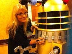 Gallifrey One 2013 - Signing a Dalek