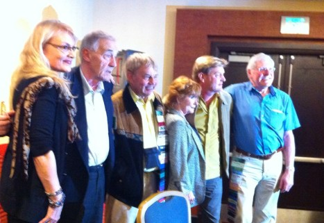 Gallifrey One 2013 - Companion Panel - With Michael Jayston, Frazer Hines, Deborah Watling, Mark Strickson and Peter Purves