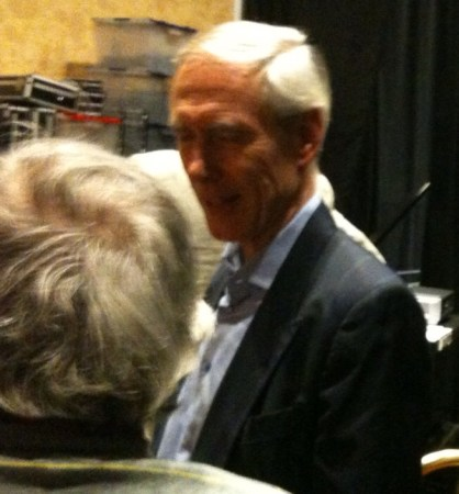 Gallifrey One 2013 - Backstage - Philip Hinchcliffe