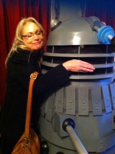 At Paul Salamoff's home - With a Dalek