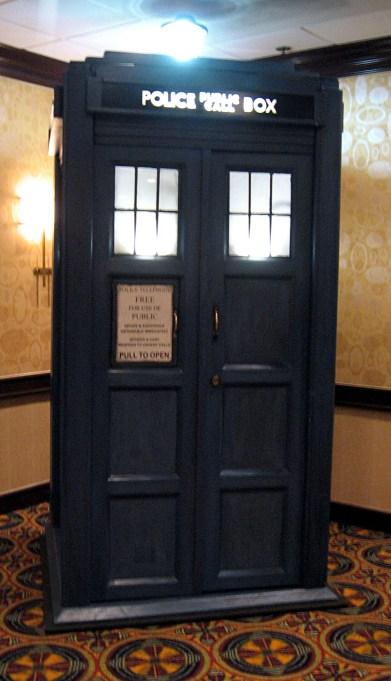 The TARDIS at Gally