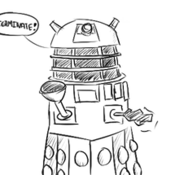 Web Dalek Saga