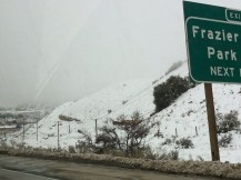 Frazier Park, not Frazer Hines!