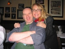 Chicago Tardis 2009 - With Gary Russell