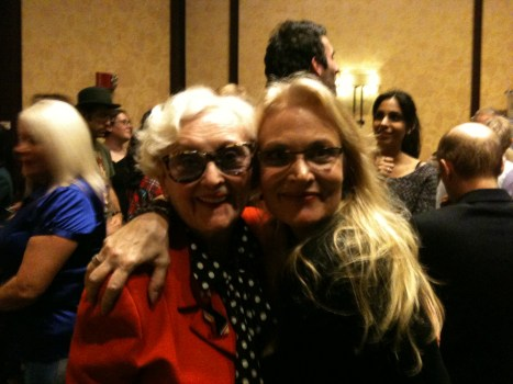 With June Hudson at Gally 2013
