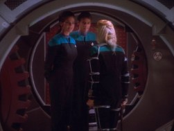 """Star Trek: DS9"" - ""Melora"" - With Alexander Siddig and Terry Farrell"