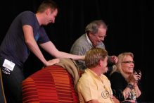 Gallifrey One 2013 - With Charlie Ross, Sylvester McCoy and Mark Strickson - Sylver Spoons