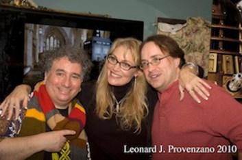 25th Anniversary of the Gallifreyan Embassy - New York - 2010 - With Louis Trapani & Ken Deep
