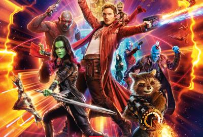 Filmplakat Guardians of the Galaxy Vol.2