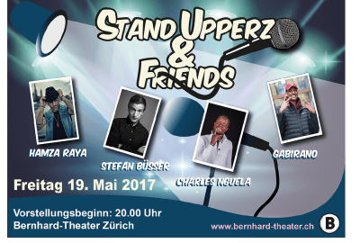 Plakat Stand Uppersz and Friends