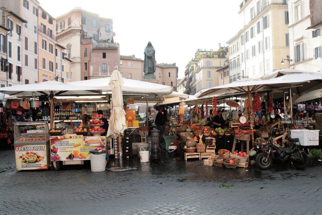 Bild Sehenswürdigkeiten in Rom: Campo de' Fiorie