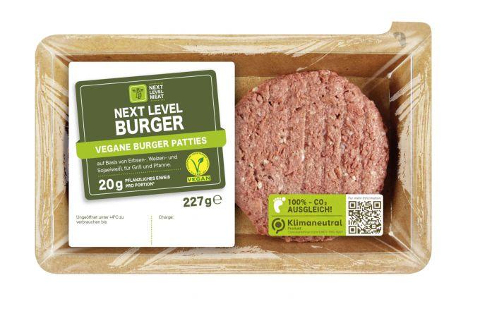 Bild des veganen Burgers von Next Level