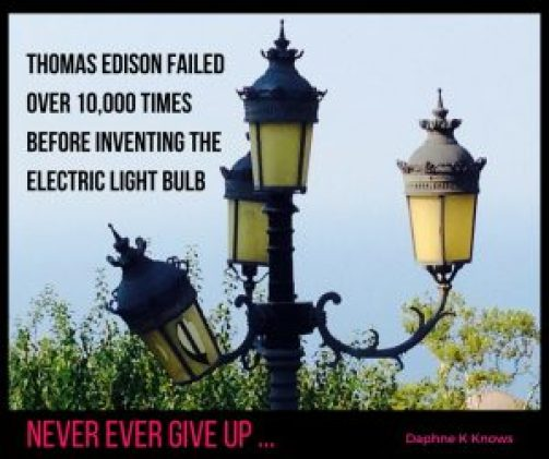 Imperfection can lead to dream jobs. An imperfect light bulb found in the town of Platamonas in Greece.
