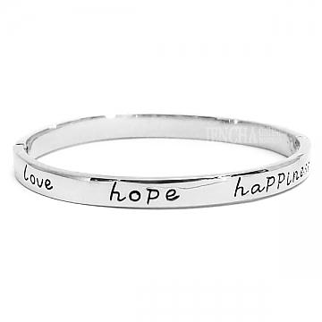 armbandje love hope happines