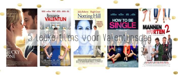 5 leuke films voor valentijnsdag