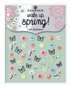 ess. wake up, spring! nail stickers