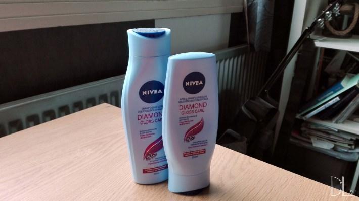 nivea diamond gloss & care shampoo and conditioner