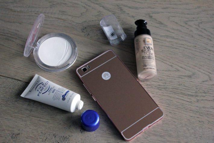 primer - foundation - powder