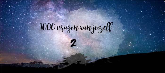 1000 vragen aan jezelf | 2