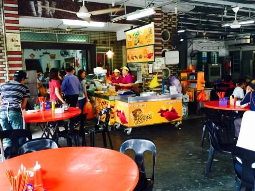 Segambut Yong Tau Foo restaurant inside