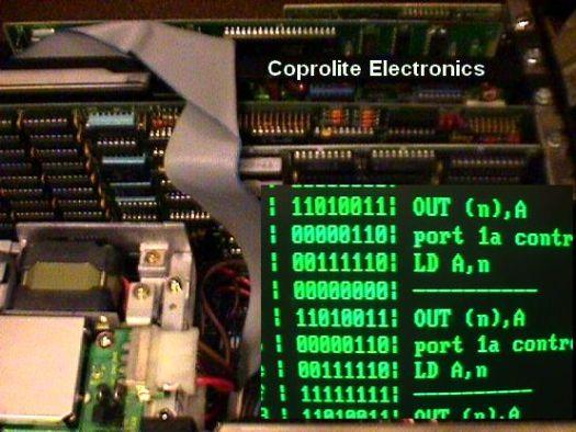 Coprolite Homebrew Computer Construction