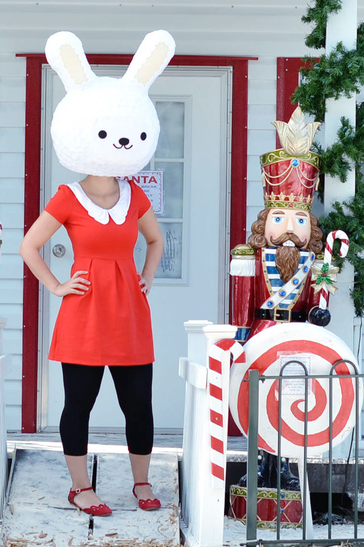 Adorable-Christmas-Red-Dress-Pinterest