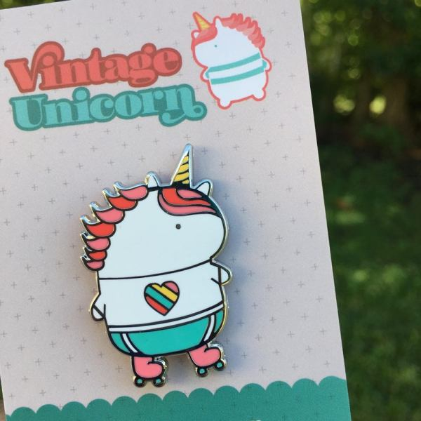 Cute Unicorn Enamel Pin