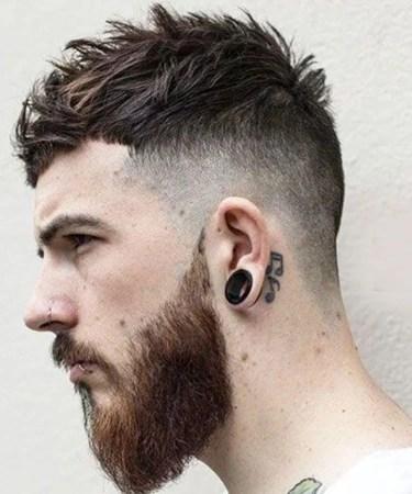 Erkek Saç Modelleri saçak