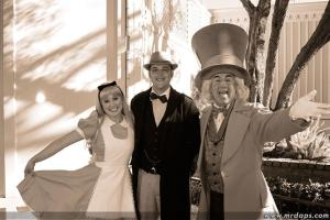 Mr. DAPs with Mad Hatter and Alice
