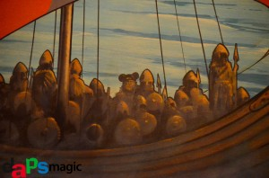 Hidden Mickey on Maelstrom mural