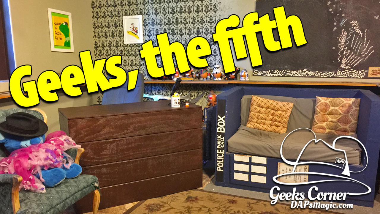 Geeks, the fifth - Geeks Corner - Episode 501