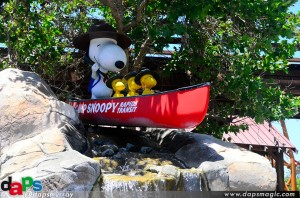 Camp Snoopy entrance