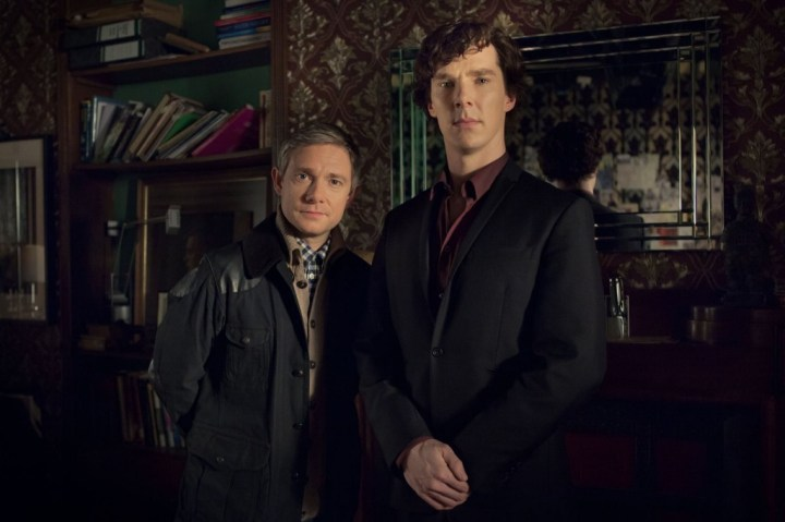 Sherlock and Watson - Sherlock - BBC