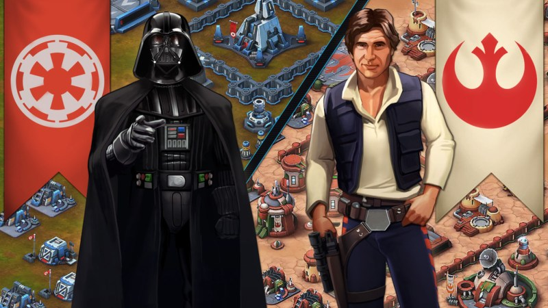Star Wars: Commander available for iOS