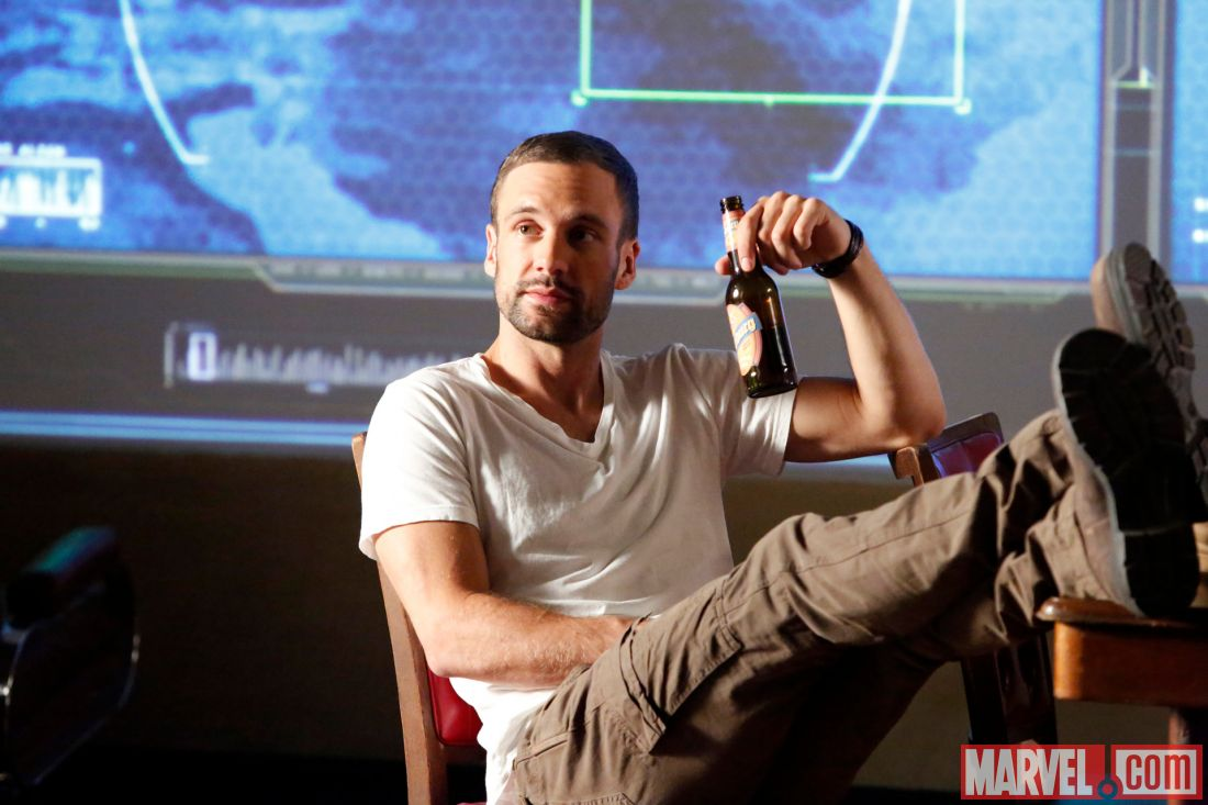Photo: Lance Hunter in Marvel's Agents of S.H.I.E.l.D.