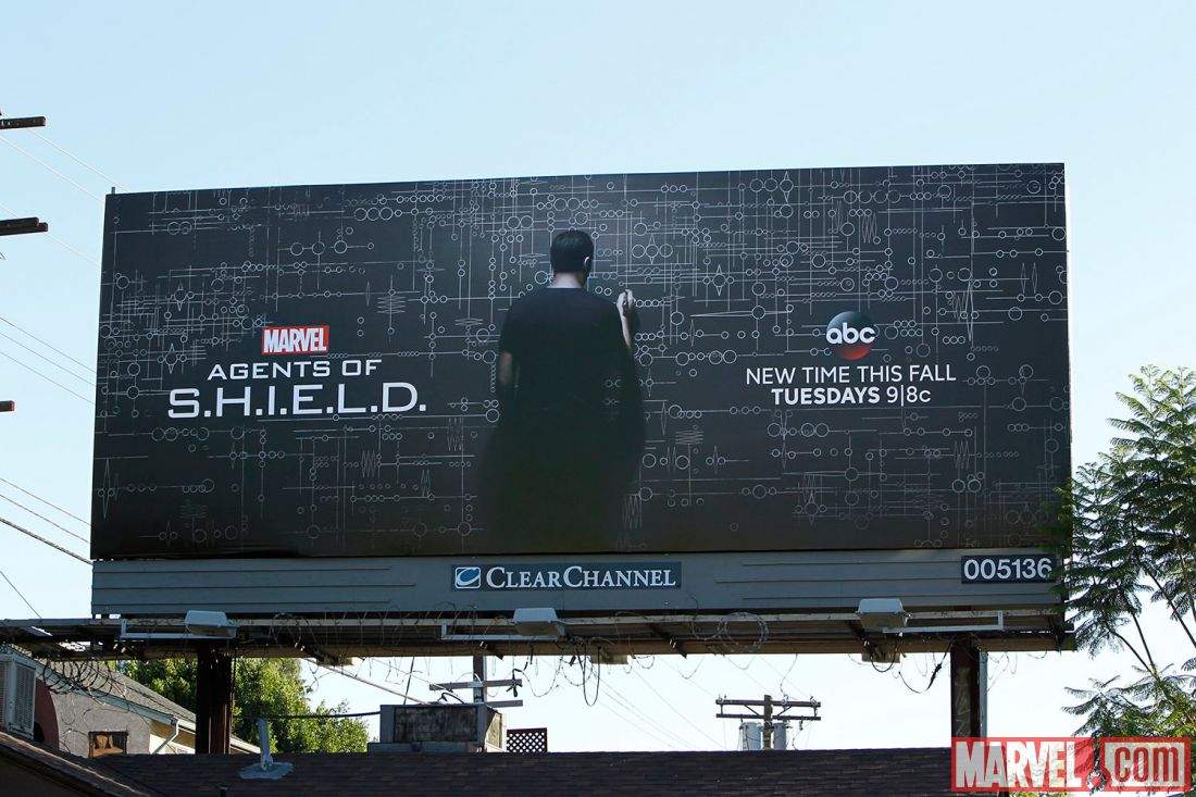 Marvel's Agents of S.H.I.E.L.D. Hollywood Billboard Updated